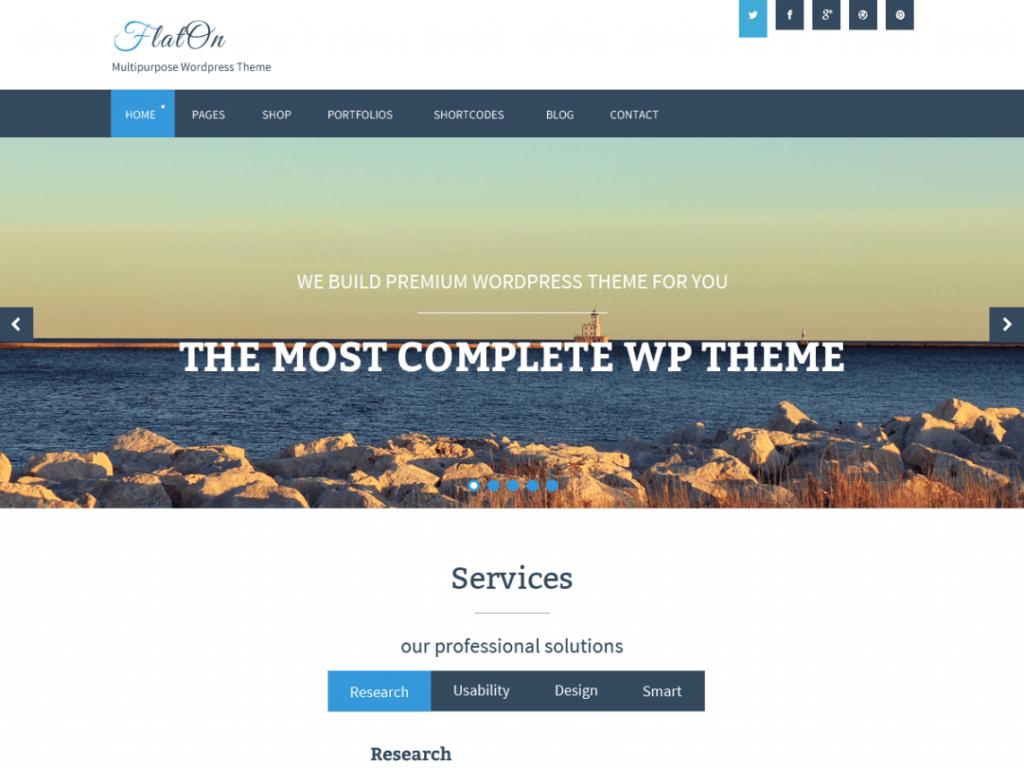 Бесплатная тема WordPress
